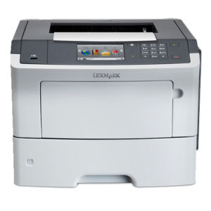 The front view of the Lexmark M3150 multifunction printer