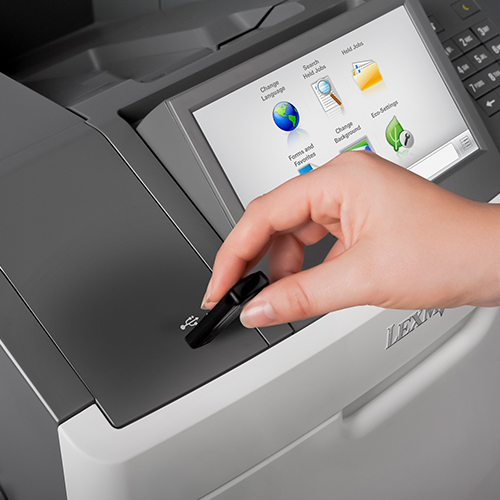 Secure operation of the Lexmark M5170 multifunction printer from Twofold Document Solutions