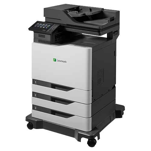 The side view of the Lexmark XM6152 multifunction printer from Twofold Document Solutions