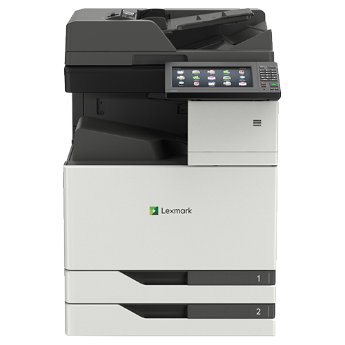 Front view of the Lexmark XC9235 multifunction printer from Twofold Document Solutions