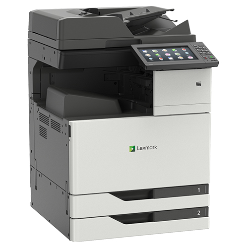 Side view of the Lexmark XC9235 multifunction printer from Twofold Document Solutions