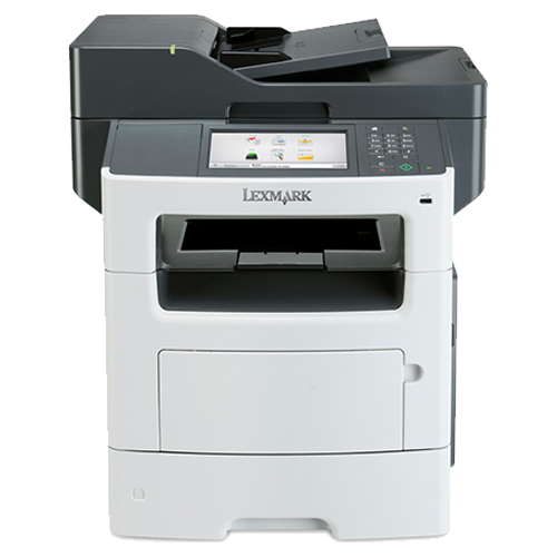 The front view of the Lexmark XM3150 multifunction printer from Twofold Document Solutions