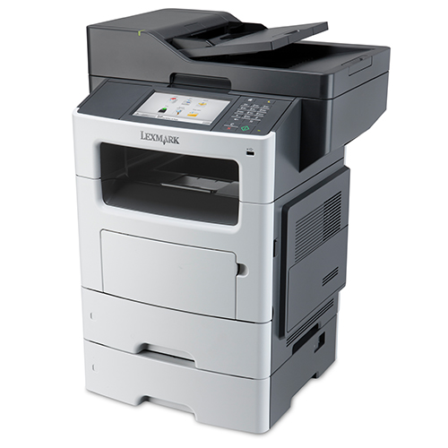 Front view of the XM3150 multifunction device from Lexmark