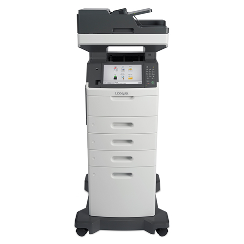 Save space and increase office efficiency with a XM5170 multifunction device from Lexmark