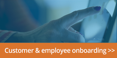 link to customer and employee onboarding software page