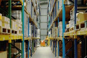Twofold envelope warehouse storage