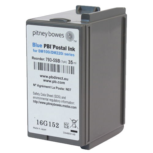 pitney bowes 793-5SB dm100 inks for franking machines