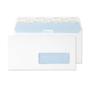 Large white business envelope