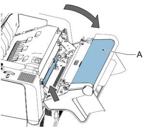 Folder inserter operation diagram