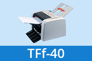 TFf-40 paper folder from Twofold Ltd