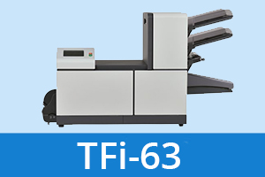 TFi 63 folder inserter product pos