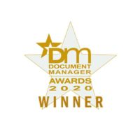 Document manager awards 2020 winners Twofold Ltd